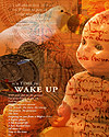 "Photoshop 7 - Alicia Buelow Emulation Poster - ""Wake Up"""